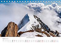 """Walliser Alpen - Europas """"kleiner"""" HimalayaCH-Version (Tischkalender 2019 DIN A5 quer) - Produktdetailbild 4"""