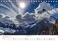 """Walliser Alpen - Europas """"kleiner"""" HimalayaCH-Version (Tischkalender 2019 DIN A5 quer) - Produktdetailbild 12"""