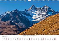 """Walliser Alpen - Europas """"kleiner"""" HimalayaCH-Version (Wandkalender 2019 DIN A3 quer) - Produktdetailbild 3"""