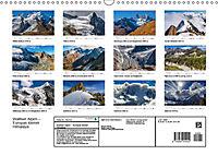"""Walliser Alpen - Europas """"kleiner"""" HimalayaCH-Version (Wandkalender 2019 DIN A3 quer) - Produktdetailbild 13"""