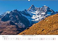 """Walliser Alpen - Europas """"kleiner"""" HimalayaCH-Version (Wandkalender 2019 DIN A2 quer) - Produktdetailbild 3"""