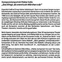 Walter Kollo: Das klingt, als wenn s ein Märchen wär, CD - Produktdetailbild 2