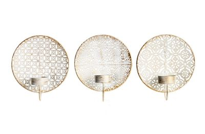 Wand-Teelichthalter Alima, 3er-Set