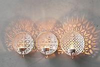 "Wand-Teelichthalter ""Alima"", 3er-Set - Produktdetailbild 1"
