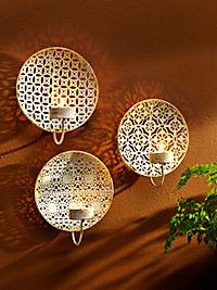 "Wand-Teelichthalter ""Alima"", 3er-Set - Produktdetailbild 2"
