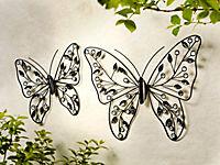 """Wandddeko """"Schmetterling"""", 39 cm - Produktdetailbild 2"""