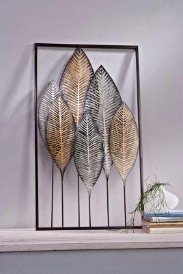 Wanddeko Blätter