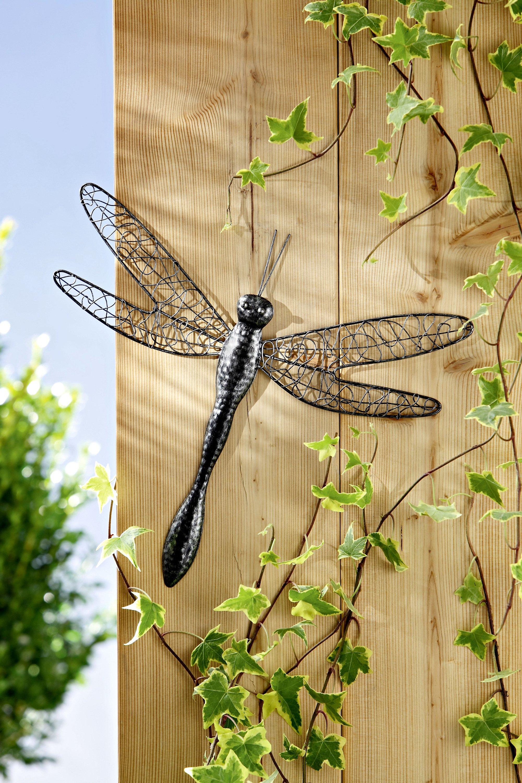 wanddeko libelle
