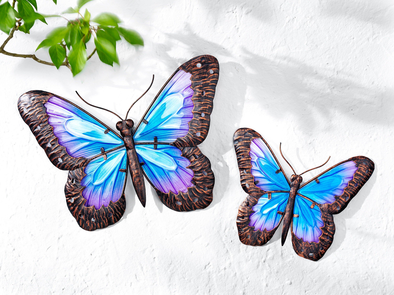 Wanddeko Schmetterling, 2er-Set jetzt bei Weltbild.de
