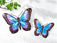 """Wanddeko """"Schmetterling"""", 2er-Set - Produktdetailbild 1"""