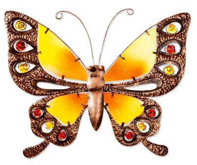 Wanddeko Schmetterling (Grösse: 39 cm)
