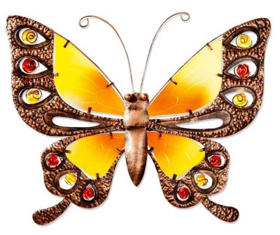 Wanddeko Schmetterling (Größe: 39 cm)