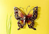 "Wanddeko ""Schmetterling"" (Grösse: 39 cm) - Produktdetailbild 1"