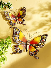 "Wanddeko ""Schmetterling"" (Grösse: 39 cm) - Produktdetailbild 2"