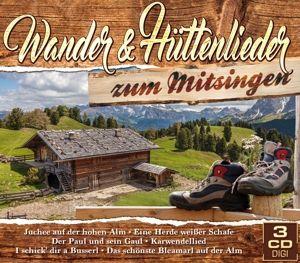 Wander- & Hüttenlieder zum Mitsingen, Diverse Interpreten