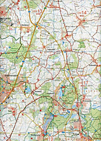 Wander- und Freizeitkarte Ratzeburg - Lauenburg - Produktdetailbild 2