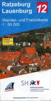Wander- und Freizeitkarte Ratzeburg - Lauenburg