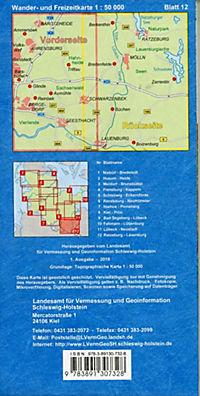 Wander- und Freizeitkarte Ratzeburg - Lauenburg - Produktdetailbild 1