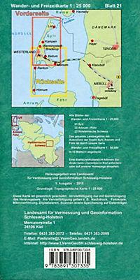 Wander- und Freizeitkarte Sylt - Produktdetailbild 1