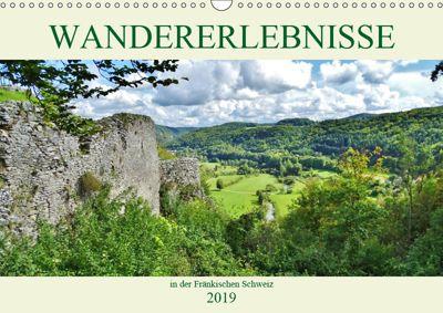 Wandererlebnisse in der Fränkischen Schweiz (Wandkalender 2019 DIN A3 quer), Andrea Janke