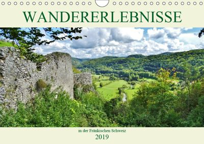 Wandererlebnisse in der Fränkischen Schweiz (Wandkalender 2019 DIN A4 quer), Andrea Janke