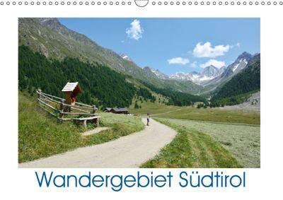 Wandergebiet Südtirol (Wandkalender 2019 DIN A3 quer), Rosemarie Prediger