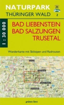 Wanderkarte Bad Liebenstein, Bad Salungen, Trusetal -  pdf epub