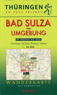 Wanderkarte Bad Sulza und Umgebung -  pdf epub