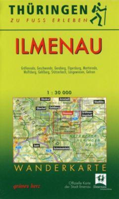 Wanderkarte Ilmenau