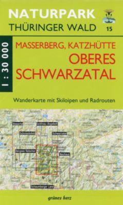 Wanderkarte Masserberg, Katzhütte, Oberes Schwarzatal