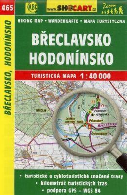 Wanderkarte Tschechien Breclavsko Hodoninsko 1 : 40 000