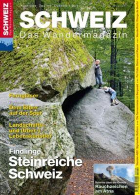 Wandermagazin SCHWEIZ: Findlinge, Daniel Anker, Toni Kaiser, Ihle Jochen