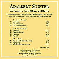 Wanderungen durch Böhmen und Bayern, 1 Audio-CD - Produktdetailbild 1