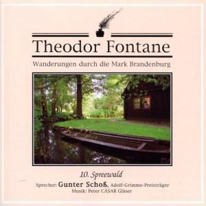Wanderungen durch die Mark Brandenburg, Audio-CDs: Tl.10 Spreewald, 1 Audio-CD, Theodor Fontane