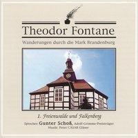 Wanderungen durch die Mark Brandenburg, Audio-CDs: Tl.1 Freienwalde und Falkenberg, 1 Audio-CD, Theodor Fontane