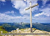 Wanderziele rund um Oberstdorf (Wandkalender 2019 DIN A3 quer) - Produktdetailbild 4