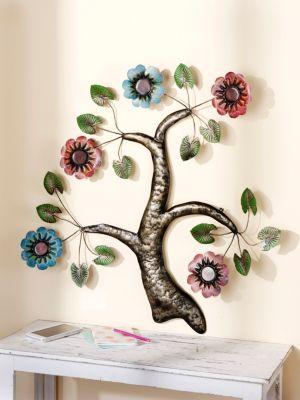 Wandornament Blütenbaum