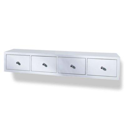 wandregal 4 schubladen bestseller shop f r m bel und einrichtungen. Black Bedroom Furniture Sets. Home Design Ideas