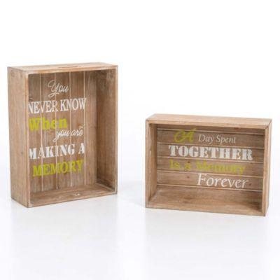 wandregal set memory 2 tlg braun bestellen. Black Bedroom Furniture Sets. Home Design Ideas