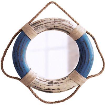 Wandspiegel maritim blau wei jetzt bei bestellen for Wandspiegel bestellen
