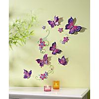 """Wandsticker """"Papillon"""", 13-teilig - Produktdetailbild 1"""