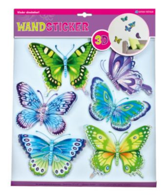 Wandsticker Schmetterlinge 2