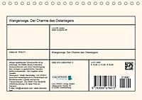 Wangerooge. Der Charme des Ostanlegers (Tischkalender 2019 DIN A5 quer) - Produktdetailbild 13