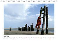 Wangerooge. Der Charme des Ostanlegers (Tischkalender 2019 DIN A5 quer) - Produktdetailbild 4