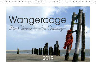 Wangerooge. Der Charme des Ostanlegers (Wandkalender 2019 DIN A4 quer), Lucy M. Laube