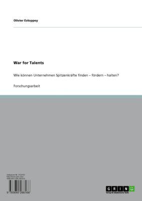 War for Talents, Olivier Estoppey