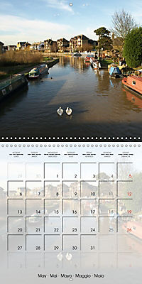 WARE on the River Lea (Wall Calendar 2019 300 × 300 mm Square) - Produktdetailbild 5
