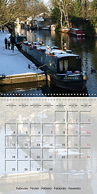 WARE on the River Lea (Wall Calendar 2019 300 × 300 mm Square) - Produktdetailbild 2