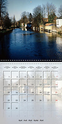 WARE on the River Lea (Wall Calendar 2019 300 × 300 mm Square) - Produktdetailbild 4