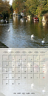 WARE on the River Lea (Wall Calendar 2019 300 × 300 mm Square) - Produktdetailbild 7